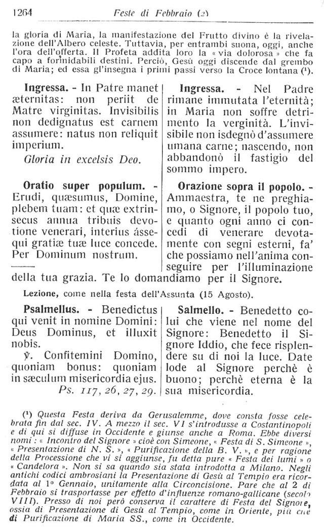 Purification BVM Ambrosian Missal 7