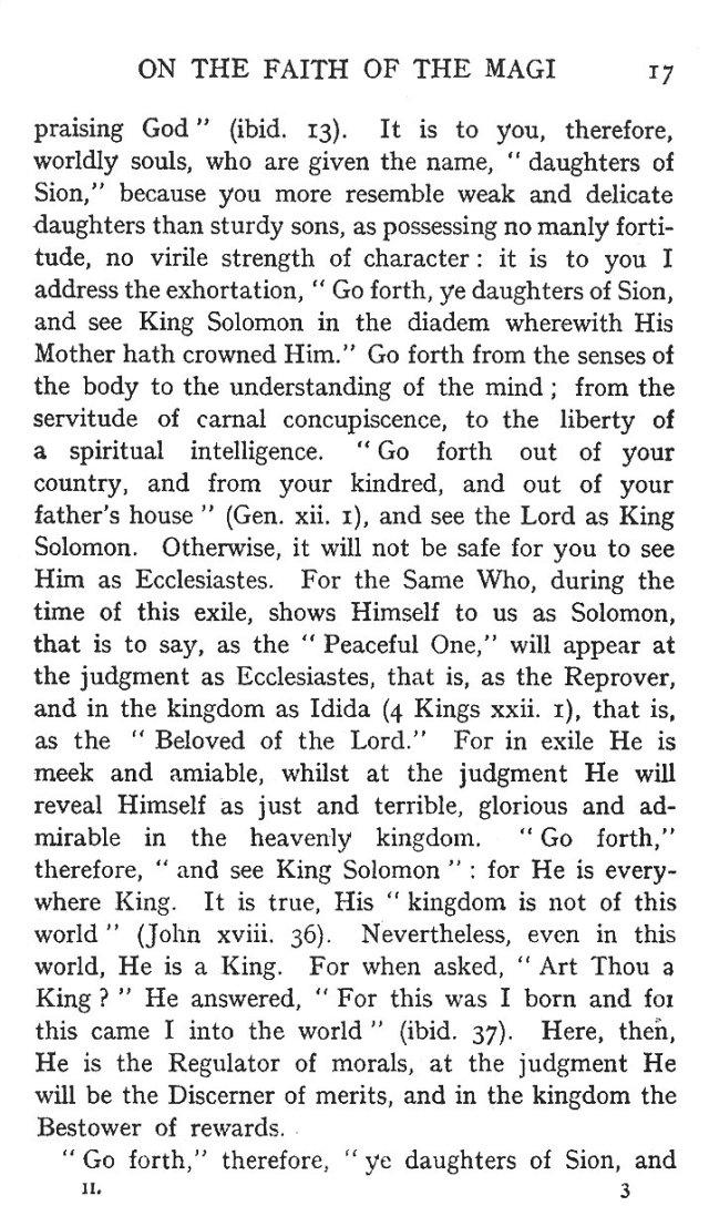 Second Sermon Epiphany 3