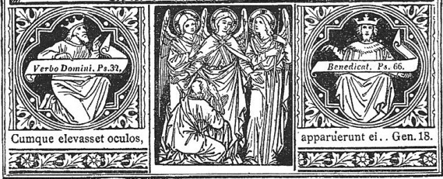 Three Angels and Abraham
