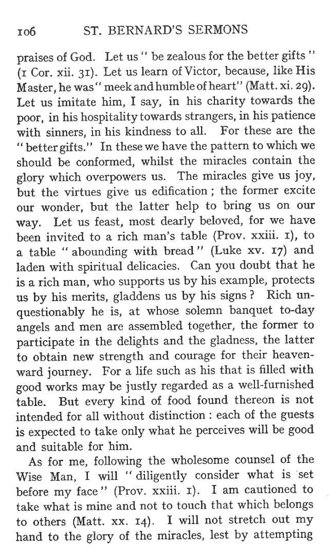 First Sermon St. Victor 4