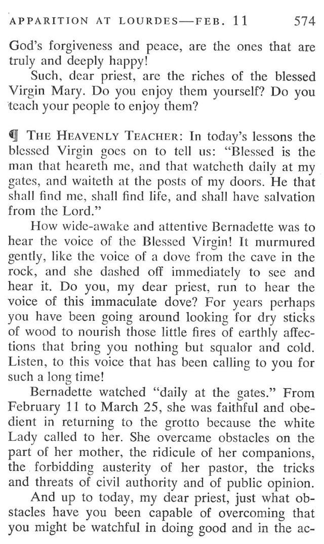 Lourdes Breviary Meditation 4