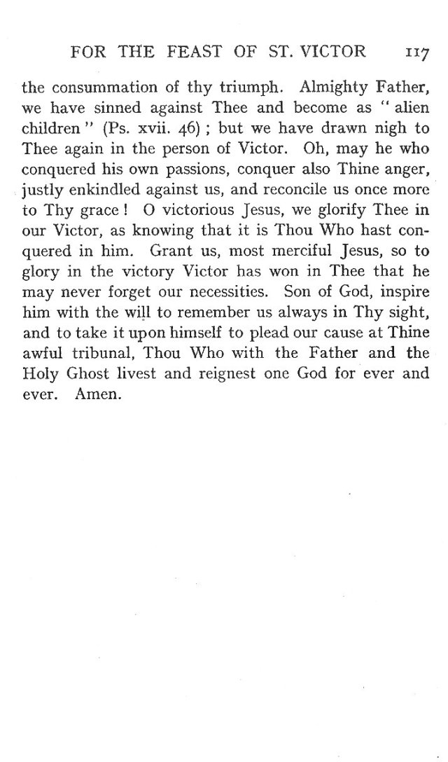 Second Sermon St. Victor 8