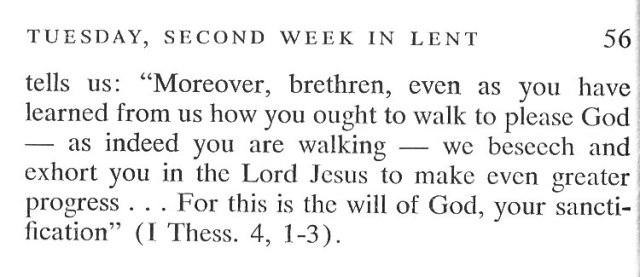 Second Week Monday Lent Meditation 5