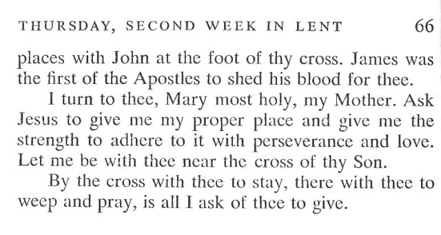 Second Week Wednesday Lent Meditation 6