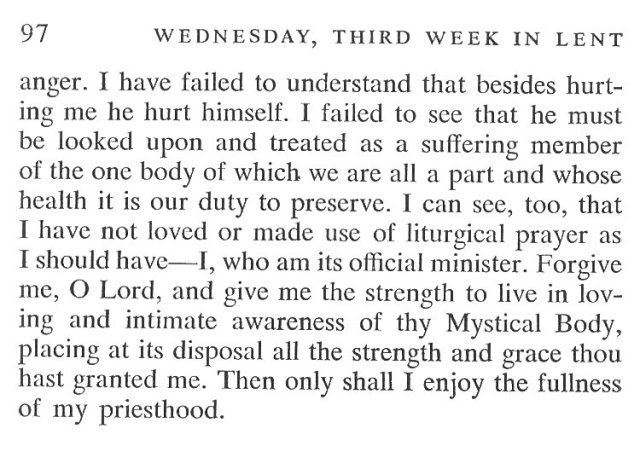 Third Week Tuesday Lent Meditation 6