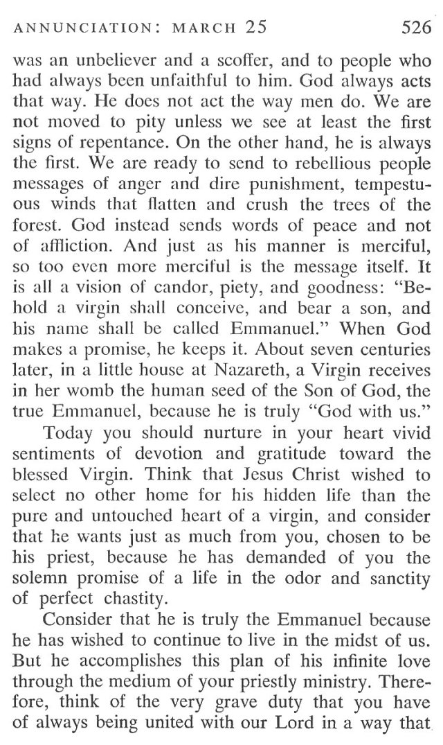 Annunciation Breviary Meditation 2