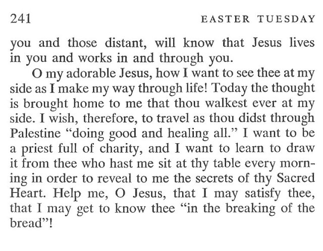 Easter Monday Breviary Meditation 6