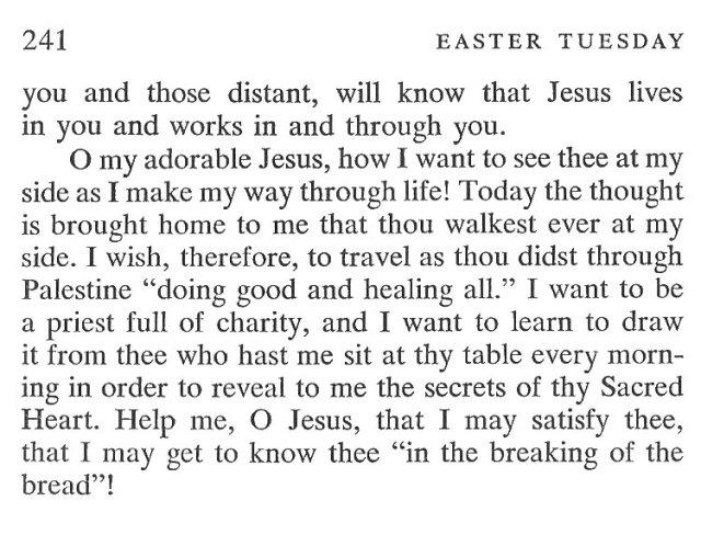Easter Monday Breviary Meditation 6
