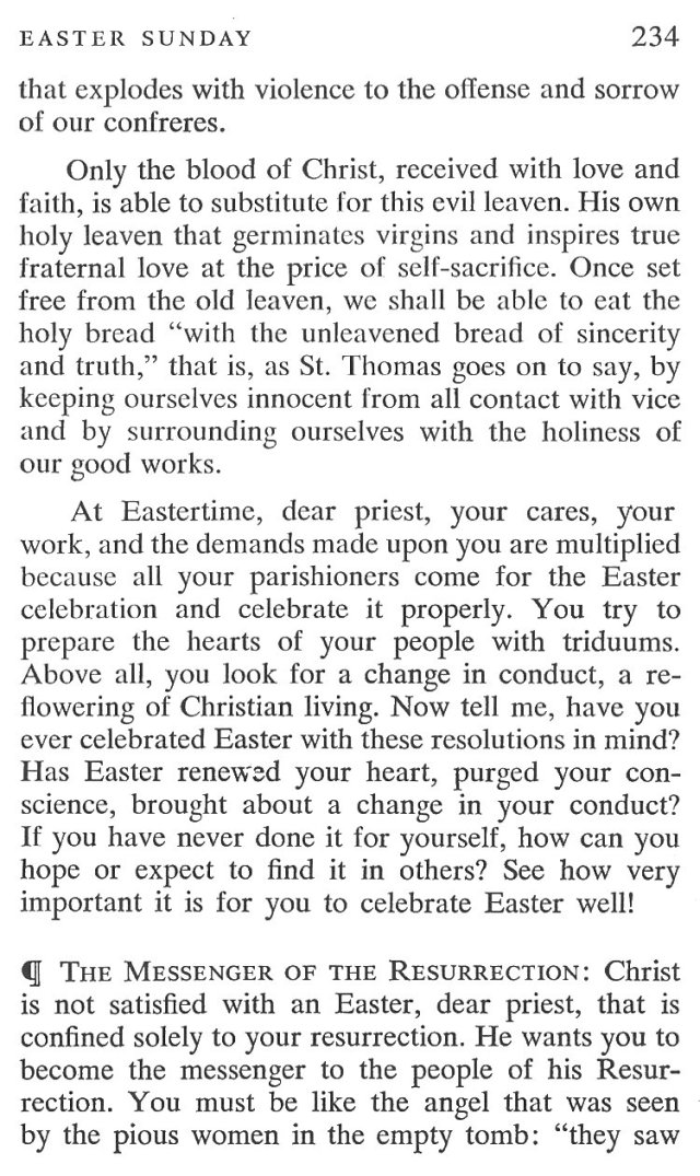 Easter Sunday Breviary Meditation 5