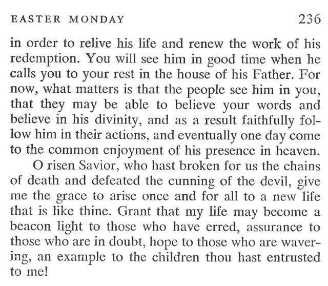 Easter Sunday Breviary Meditation 7