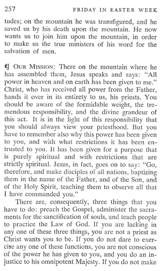 Easter Week Friday Breviary Meditation 3