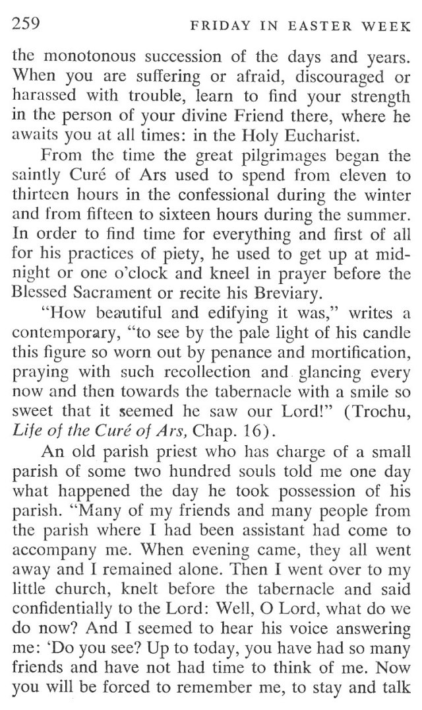 Easter Week Friday Breviary Meditation 5