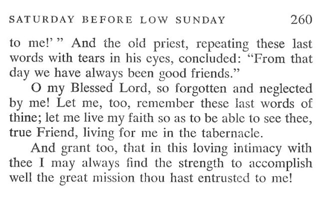 Easter Week Friday Breviary Meditation 6