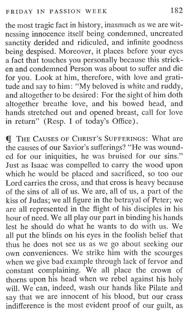 Friday Passiontide Breviary Meditation 3
