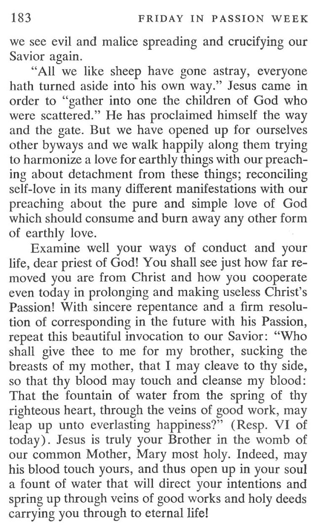 Friday Passiontide Breviary Meditation 4
