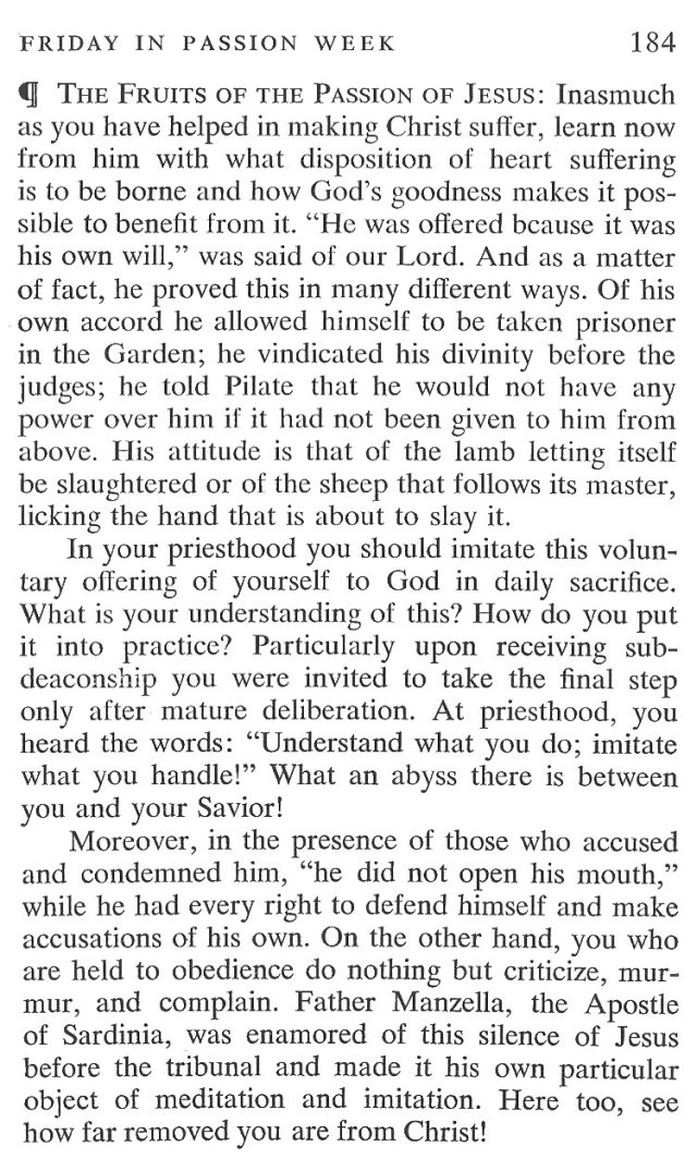 Friday Passiontide Breviary Meditation 5