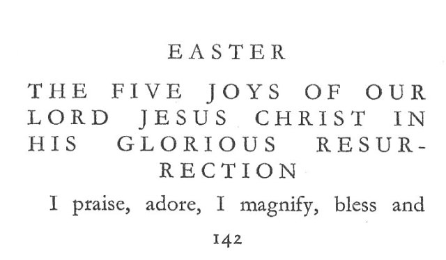 Gertrude Five Joys Easter 1
