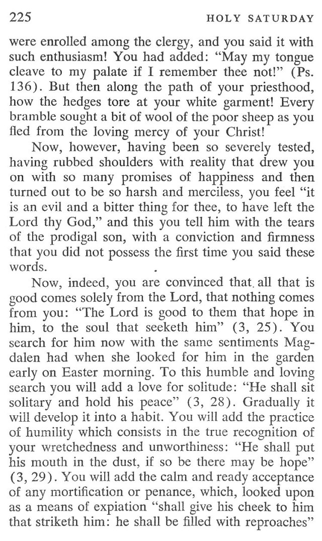 Holy Saturday Breviary Meditation 3