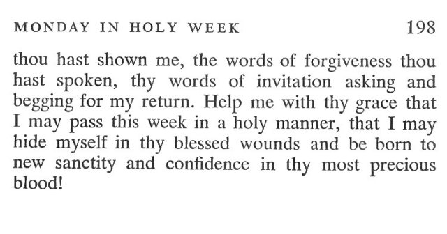 Palm Sunday Breviary Meditation 8