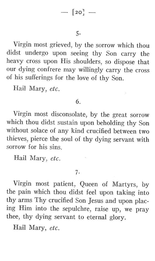 Prayers for the Dying to Blessed Virgin Mary 2