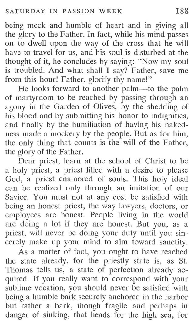 Saturday Passiontide Breviary Meditation 3