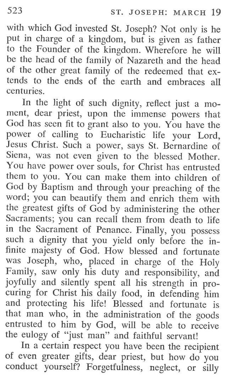 St. Joseph Breviary Meditation 3