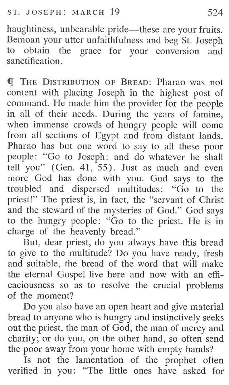 St. Joseph Breviary Meditation 4
