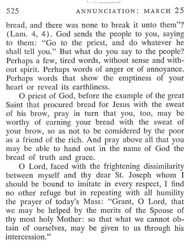 St. Joseph Breviary Meditation 5