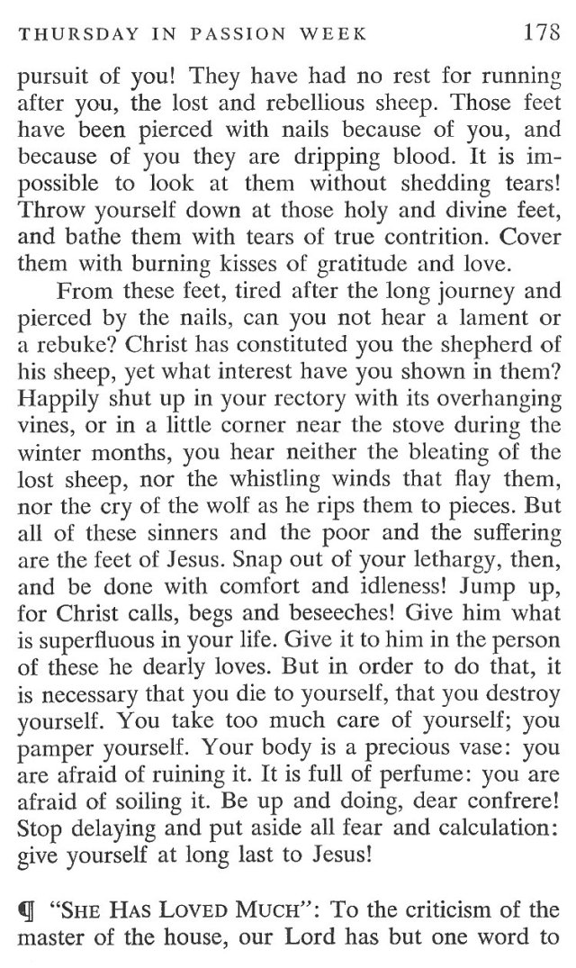 Thursday Passiontide Breviary Meditation 4
