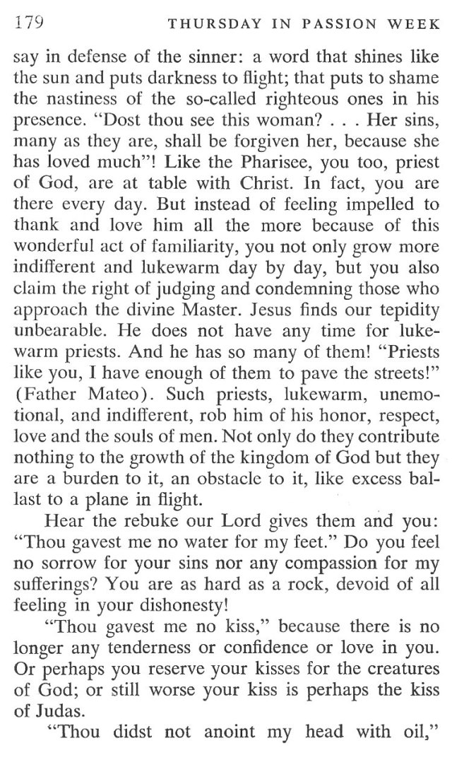 Thursday Passiontide Breviary Meditation 5