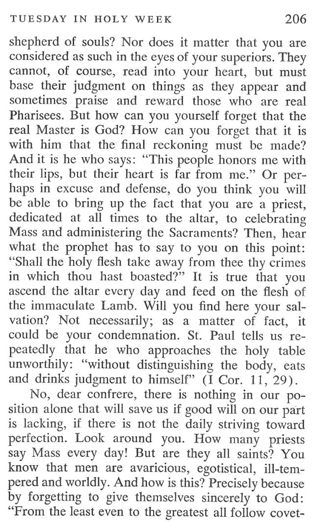 Tuesday Holy Week Breviary Meditation 4