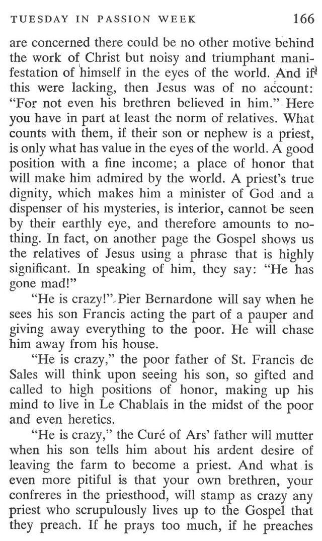 Tuesday Passiontide Breviary Meditation 2