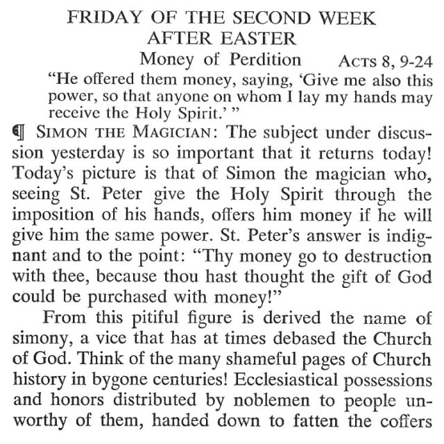 Friday Second Week Easter Breviary Meditation 1