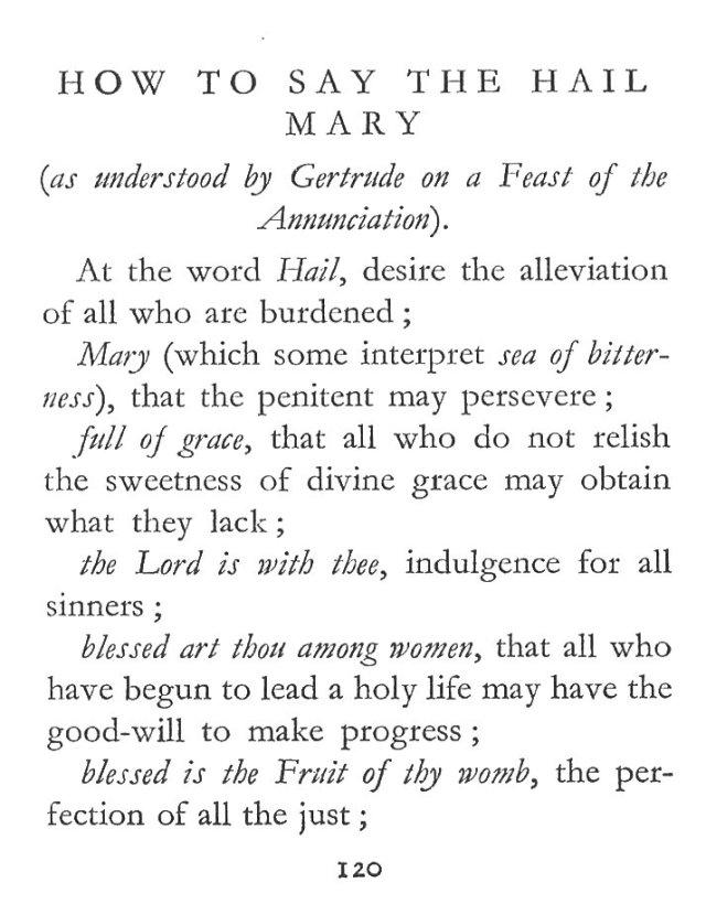 How to Say Hail Mary 1