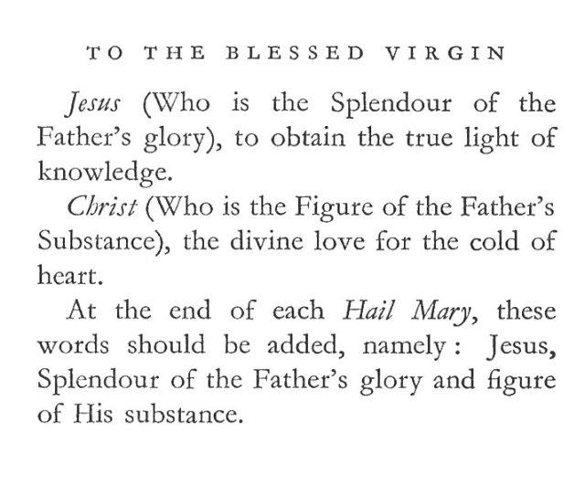 How to Say Hail Mary 2