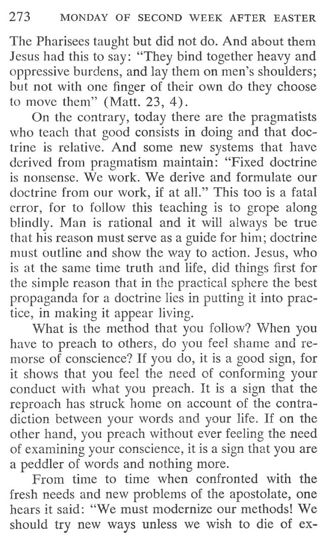 Monday Second Week Easter Breviary Meditation 2
