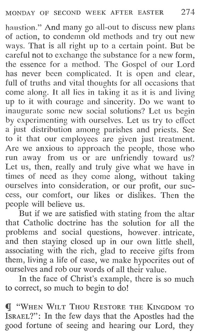 Monday Second Week Easter Breviary Meditation 3