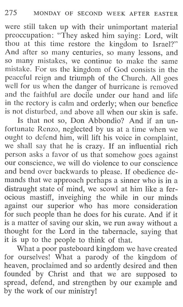 Monday Second Week Easter Breviary Meditation 4