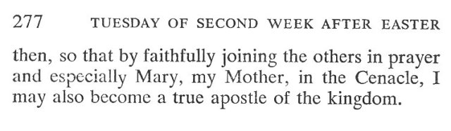 Monday Second Week Easter Breviary Meditation 6