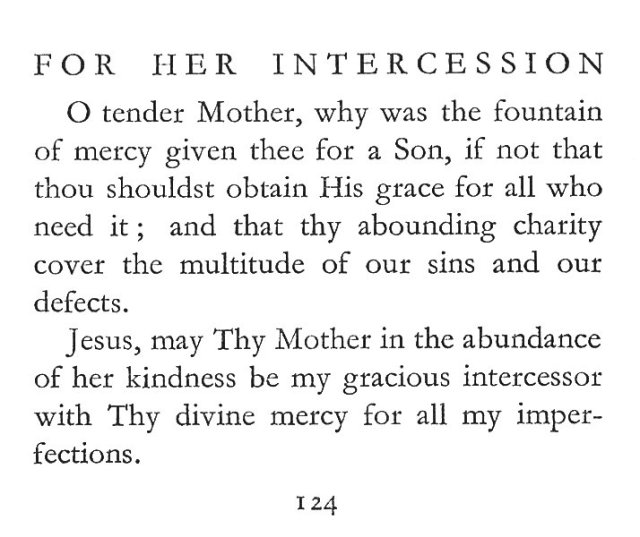 For Her Intercession 1