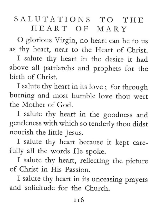 Salutations to the Heart of Mary 1