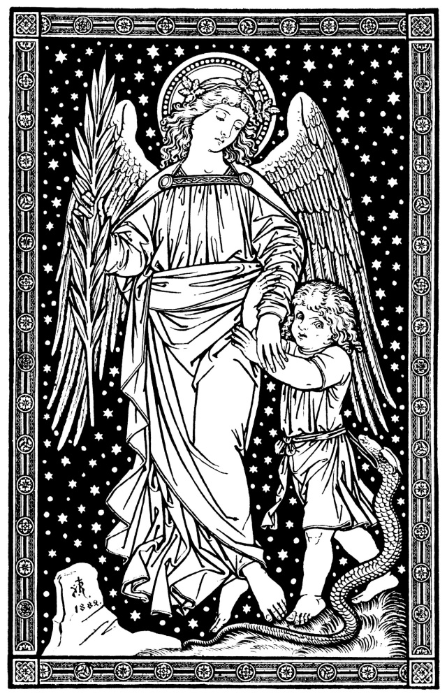 Litany Of The Holy Angels Commentaries Notes
