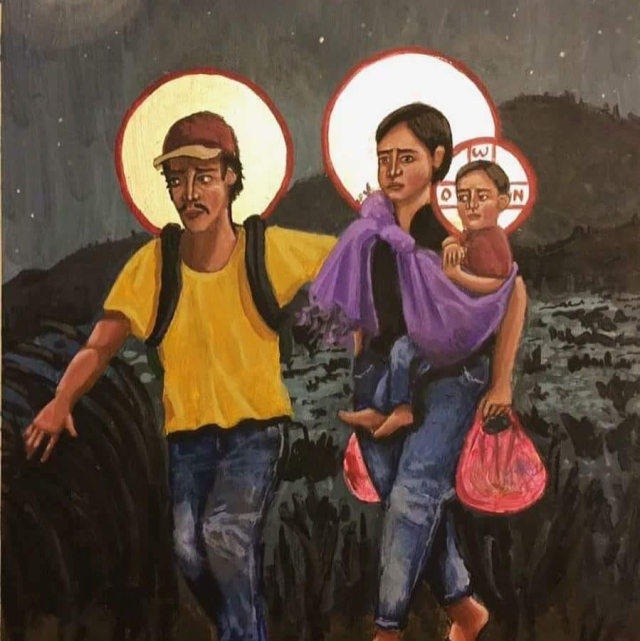 The Holy Family is against Trumo's Ethno-Nationalism